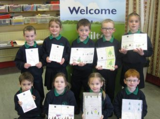 Primary 3 Christmas Cards