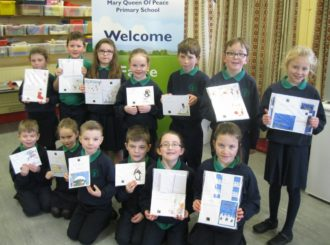 Primary 4 Christmas Cards
