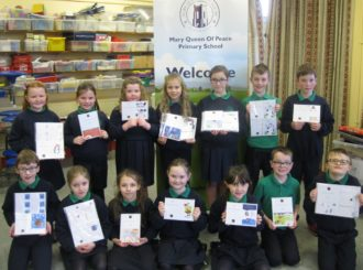 Primary 5 Christmas Cards