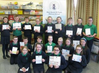 Primary 7 Christmas Cards