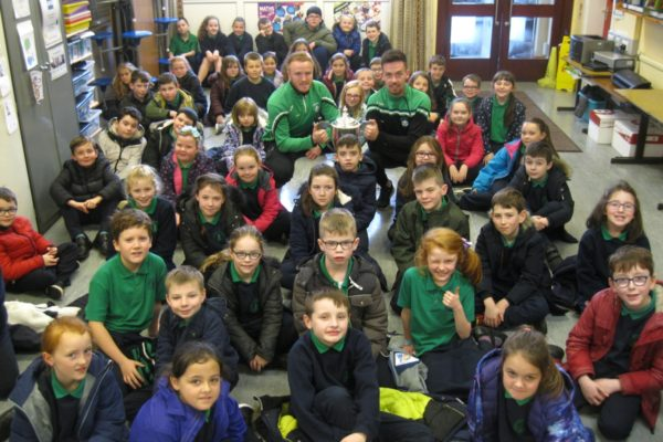 Con Magee's Visit to the School