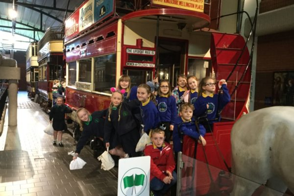 Y4 Shared Ed Trip to the Ulster Folk & Transport Museum