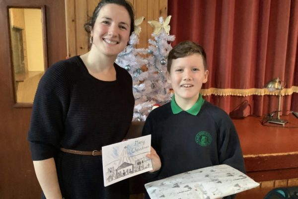 Design a Christmas Card Competition Winner